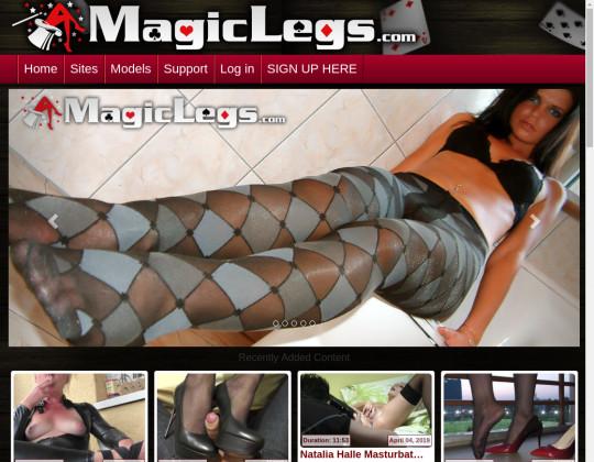 Magic legs, magic-legs.com