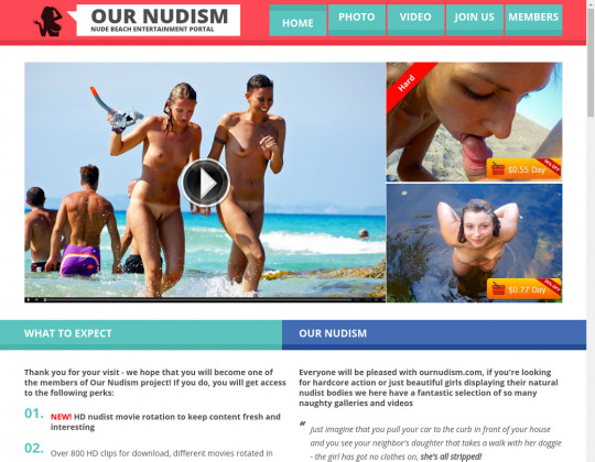 Discount Our nudism