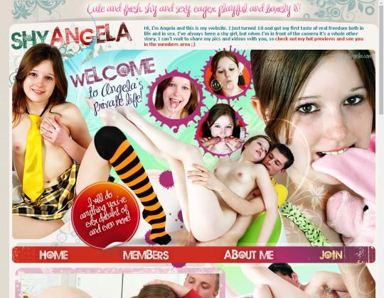 Shy angela, shyangela.com