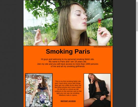 Discounted price to Smoking paris