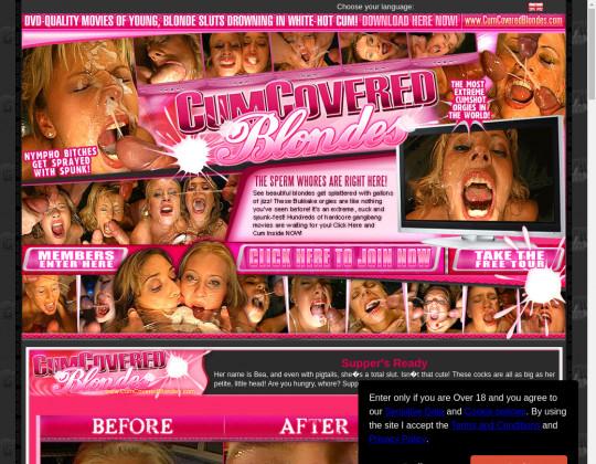Cum covered blondes, cumcoveredblondes.com