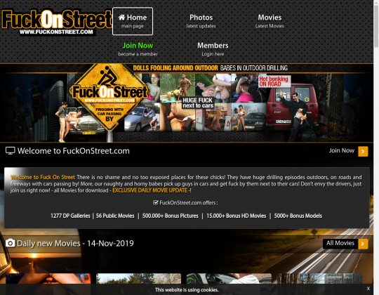 Fuckonstreet.com cheap access