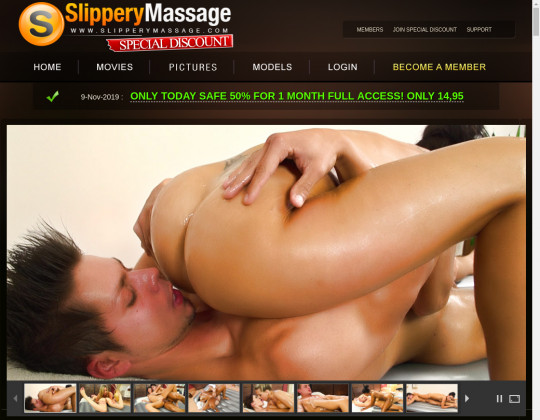 Discount Slippery massage – special discount