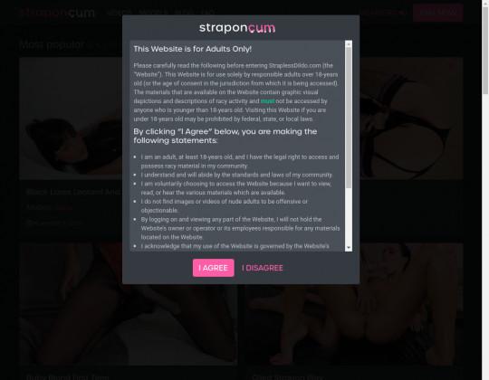 Strapon cum, straponcum.com