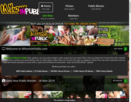 Whores in public, whoresinpublic.com