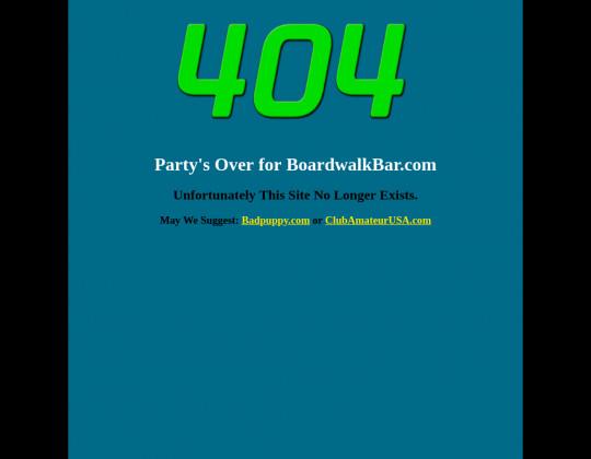 Boardwalk bar, boardwalkbar.com