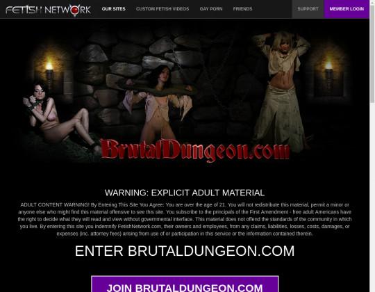 Brutal dungeon, brutaldungeon.com