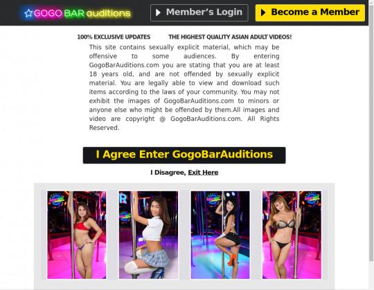 Gogo bar auditions, gogobarauditions.com