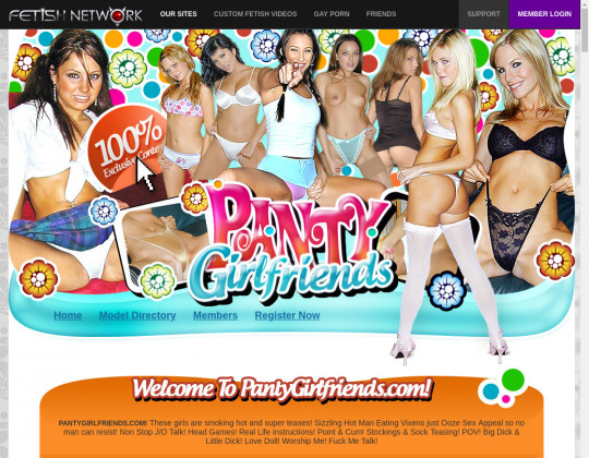 Panty girlfriends, pantygirlfriends.com