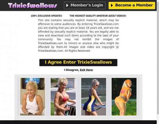 Trixie swallows, trixieswallows.com