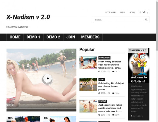 X-nudism, x-nudism.com
