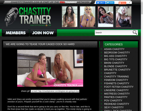 Time limited Chastitytrainer.com discounted price