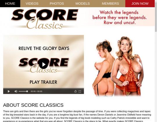 Default tour score classics, scoreclassics.com