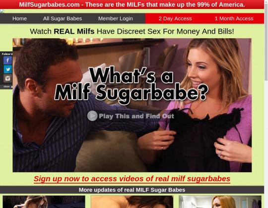 Discount Milf sugar babes