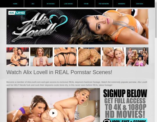 Alix lovell, alixlovellxxx.com