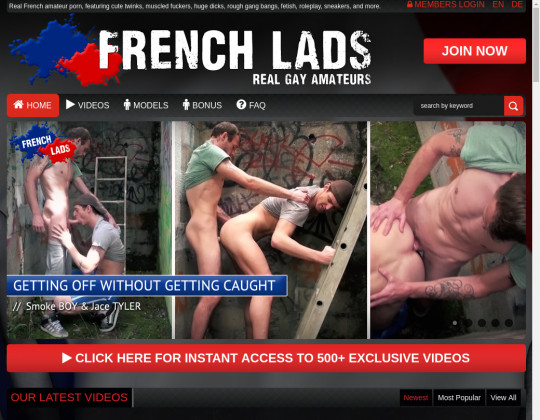 Frenchlads.com free discount