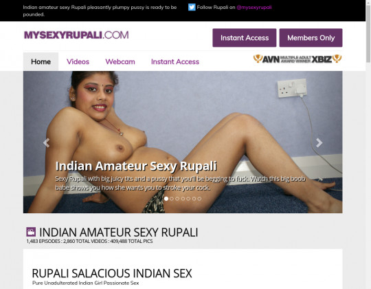 Time limited Mysexyrupali.com cheap porn