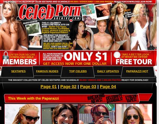 Celeb porn archive, celebpornarchive.com