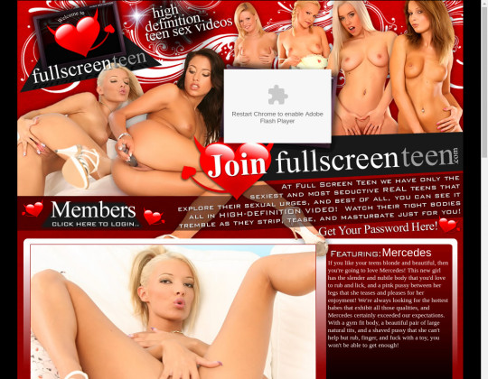 Full screen teen, fullscreenteen.com