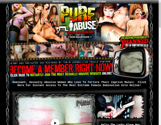 Pure abuse, pureabuse.com