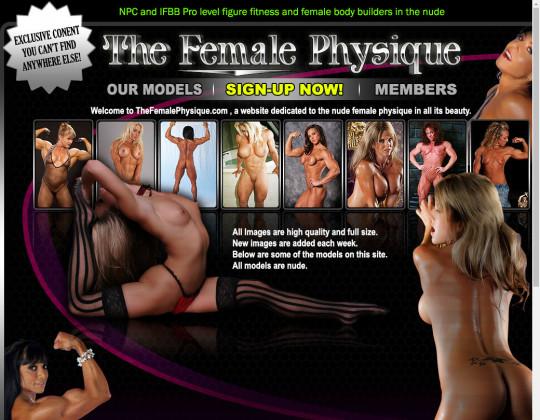 The female physique, thefemalephysique.com