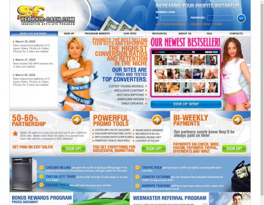 Webmaster referral, serious-cash.com