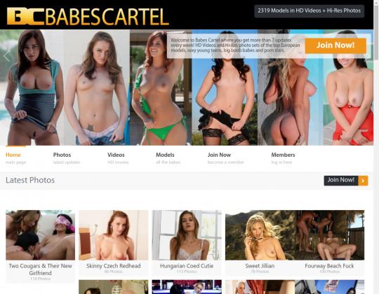 Babes cartel, babescartel.com
