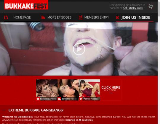 Bukkake fest, bukkakefest.com