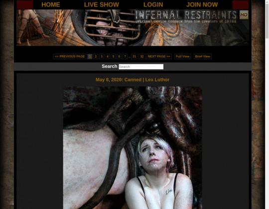 Infernal restraints, infernalrestraints.com