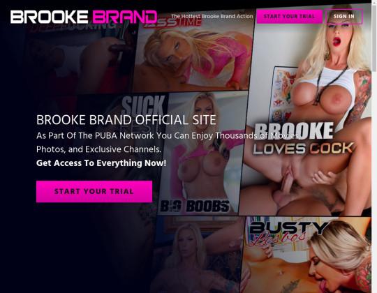 Brooke brand, brookebrand.puba.com