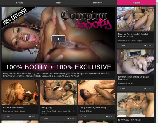 Comptonbooty.staxxx.com cheap access