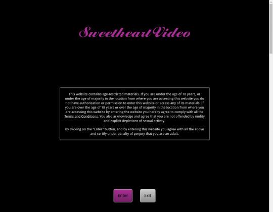 Sweet heart video, sweetheartvideo.com