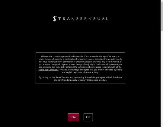 Trans sensual, transsensual.com